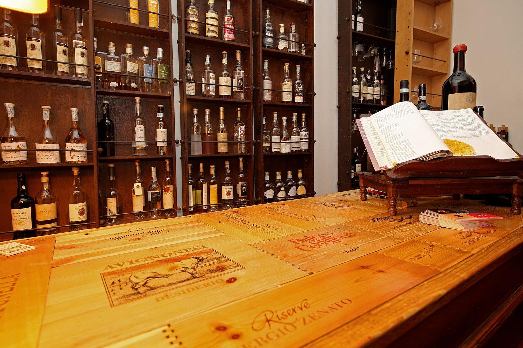 Enoteca Roma Trastevere Restaurant Osteria Wine Bar