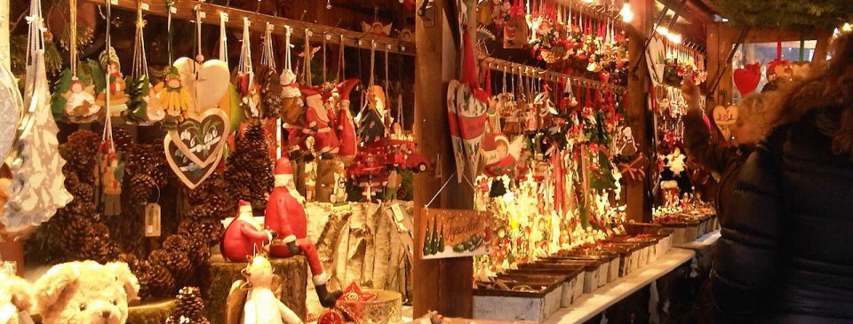 migliori mercatini natalizi roma